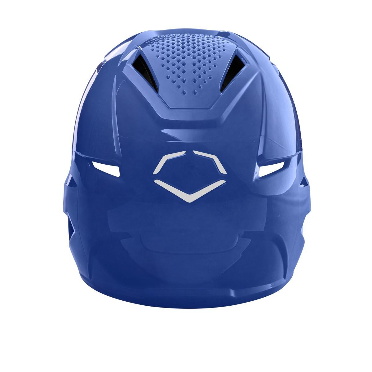 EVOSHIELD  XVT BATTING HELMET HIGH GLOSS FINISH - NAVY BLUE