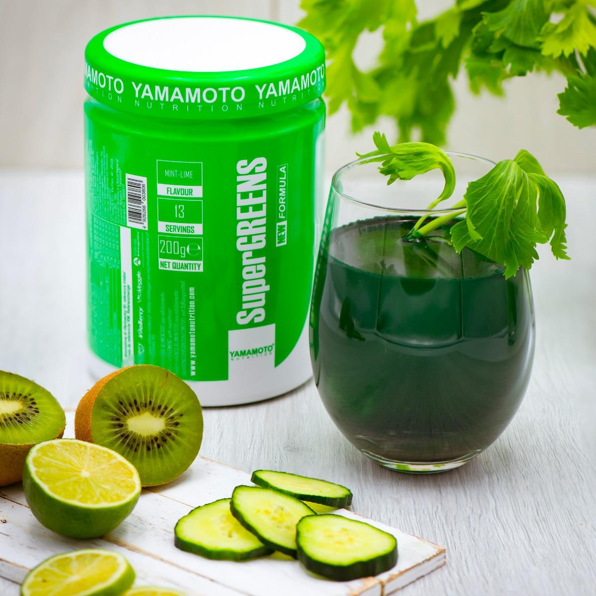 Yamamoto Nutrition Super Greens 200 Grams