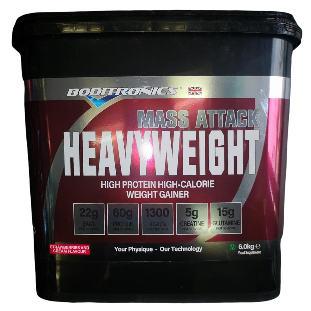 Boditronics Mass Attack Heavyweight Serious Mass Weight Gainer 6kg
