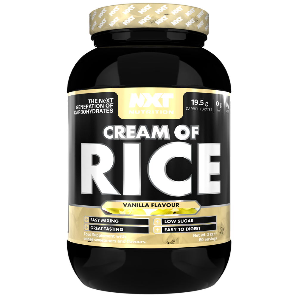 NXT Nutrition Cream of Rice 2kg