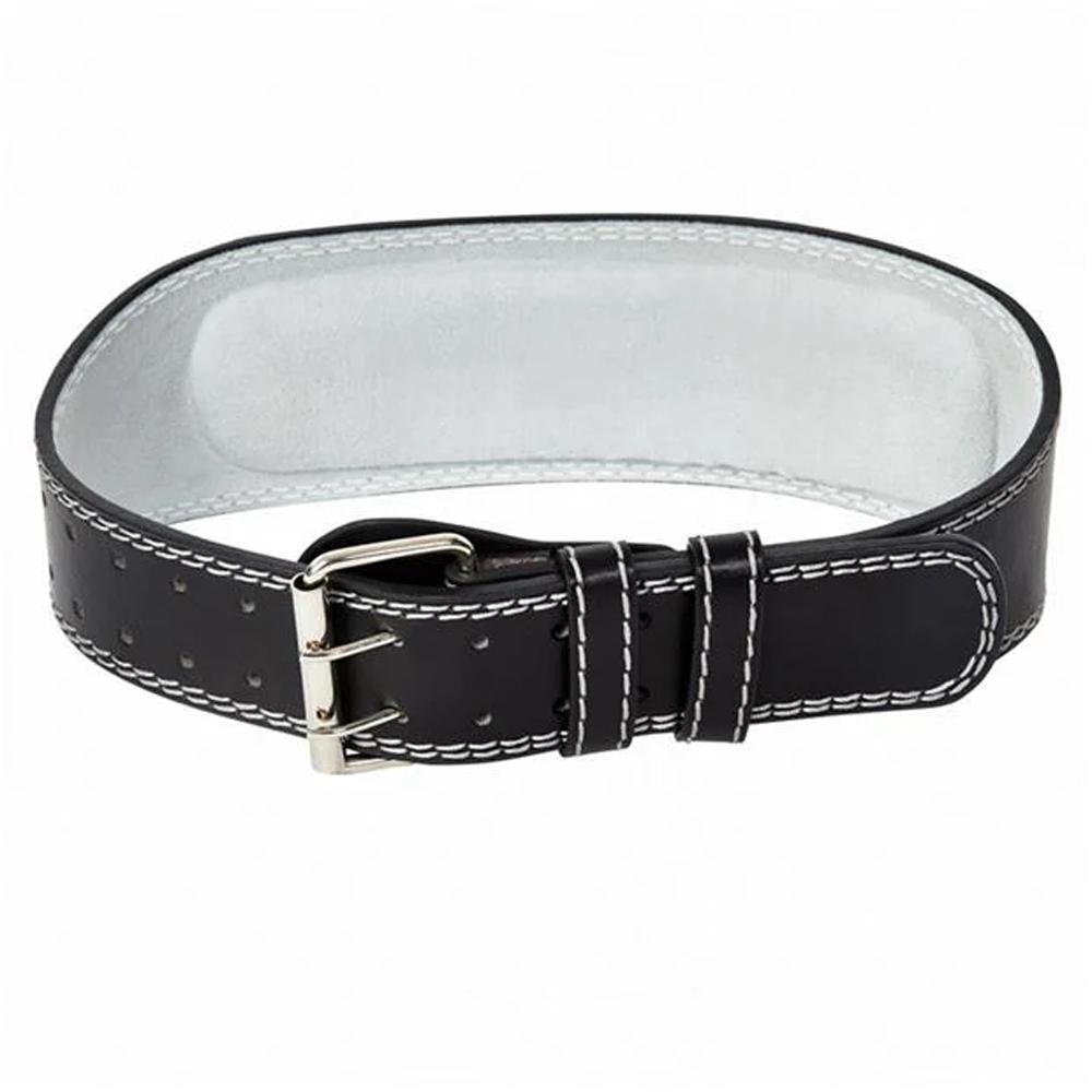 CS Sports Black Leather Weight Training Belt