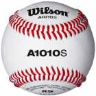 Wilson A1010S Full Grain Leather Cover  Baseballs - 1 Dozen