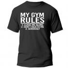 My Gym Rules T-Shirt