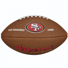 Wilson NFL Mini Team Logo Football - Fan Francisco 49ers