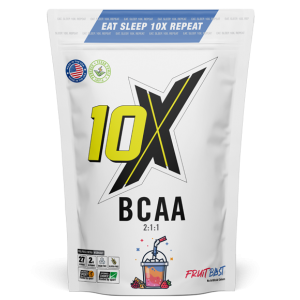 10X ATHLETIC BCAA 240G - VEGAN