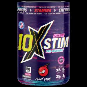 10X STIM  Extreme Stim Pre Workout