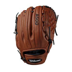 "Wilson A500 Baseball Glove - Right Hand Throw 12"""