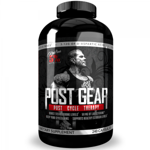 Rich Piana 5% Nutrition Post Gear PCT Support