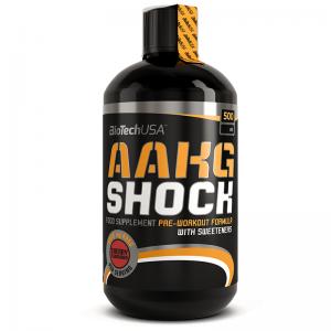 BiotechUSA AAKG Shock 6000mg Pre-Workout Formula 500ml