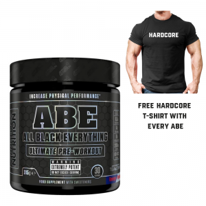 Applied Nutrition ABE Pre Workout 315g 30 Servings  + FREE T-shirt