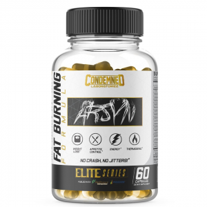 Condemned Labz Arsyn Thermogenic Fat Burners 60 Capsules  (USA)