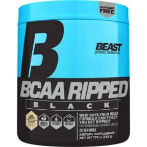 Beast Sports Nutrition Bcaa Ripped Black Fast Recovery Amino Energy Weight Loss