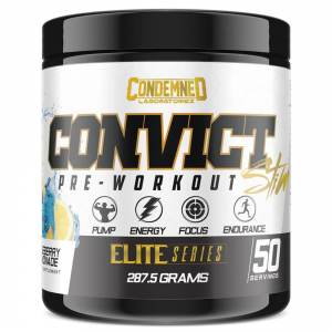 Condemned Labz Convict Elite Series Pre-Workout (50 Servings)