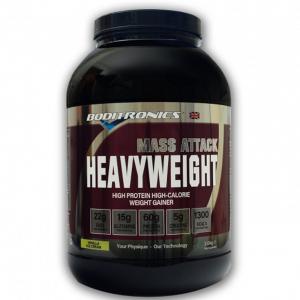 Boditronics Mass Attack Heavyweight Serious Mass Weight Gainer 2kg