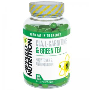 Applied Nutrition CLA, L-Carnitine & Green Tea 100 Gels