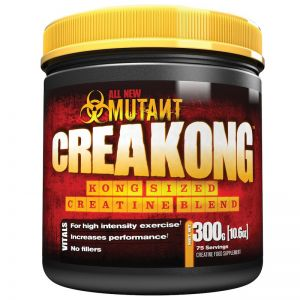 Mutant Creakong Creatine 300g Muscle Growth Creatine Powder 75 Servings