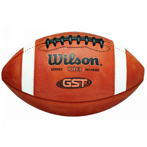 Wilson GST F1003 American Football NCAA Leather Game Ball
