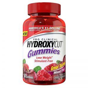 Pro Clinical Hydroxycut Gummies (60 Gummies)