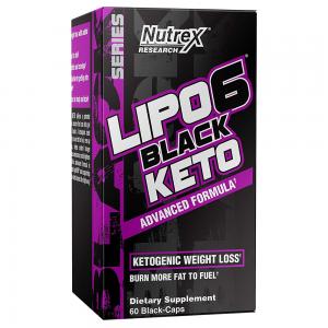 Nutrex Research  Lipo-6 Black Keto  - Ketogenic Weight Loss