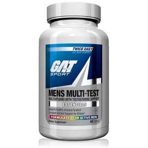 GAT Mens Multi+Test - Multivitamin with Testosterone Support