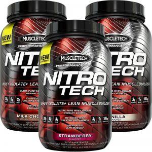 Muscletech Nitro Tech 907g Nitrotech 2lbs Performance Series