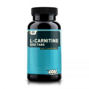 Optimum Nutrition L-Carnitine 500 Tabs (60 Capsules)
