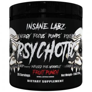 Insane Labz Psychotic Black 221g