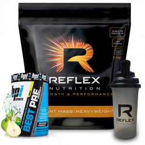 Reflex Nutrition Instant Mass Heavyweight 5.4Kg - Free Pre-Workout & Shaker