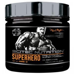 Scitec Nutritions Superhero Pre Workout Stimulant Super Powder