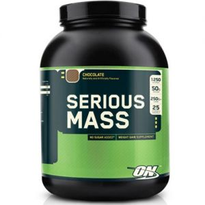 Optimum Nutrition Serious Mass Weight Gain Protein Powder 2.7Kg / 6Lbs