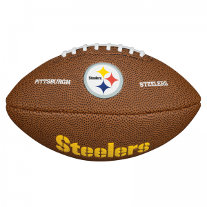 Wilson NFL Mini Team Logo American Football - PITTSBURGH STEELERS