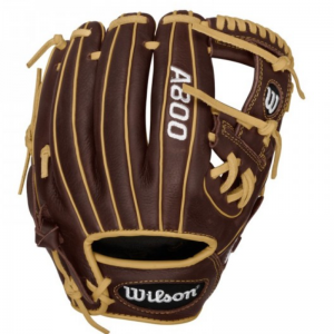 """Wilson A0800 Showtime 11.5"""" Adult Baseball Glove - (Right Hand Thrower)"""