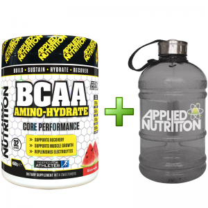 Applied Nutrition BCAA Amino Hydrate 450g + FREE HALF GALLON WATER JUG