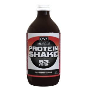 QNT Protein High Carbohydrate Post Training Recovery Shake 12 X 500ml Bottle