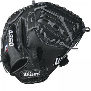 """Wilson A360 Baseball Catcher's Mitt, 32.5"""" / Right Hand Throw"""