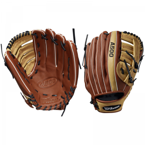 "Wilson A500 12.5"" Baseball Glove Right Hand Throw"