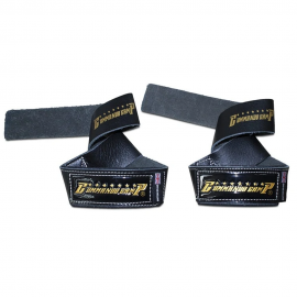 Commando Camp Leather Weight Lifting Straps