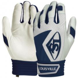 Louisville Slugger Series 7 Adult Baseball batting gloves - Navy Blue