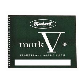 Mark V Basketball Scorebook 37 Games