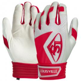Louisville Slugger Series 7 Adult Baseball batting gloves - Scarlet