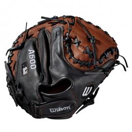Wilson A500 Catcher's Mitt - Right Hand Throw 32