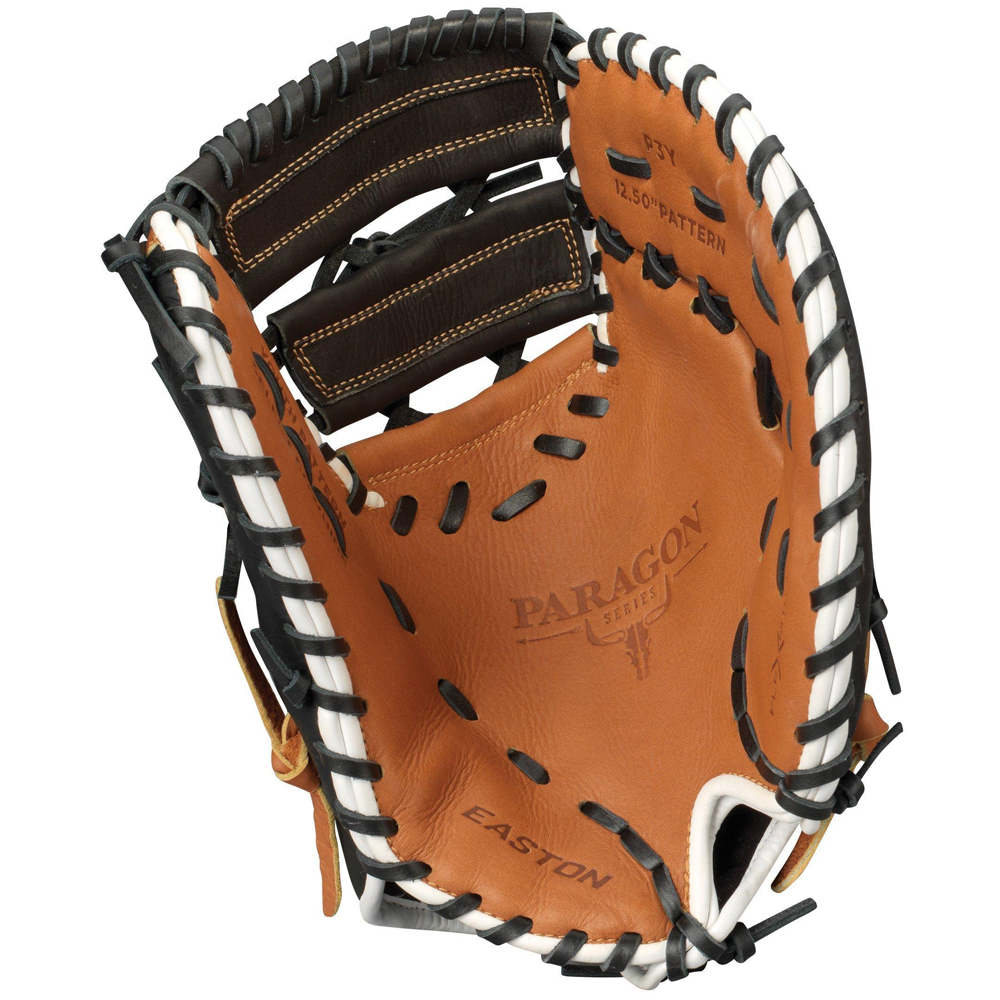 """Easton Paragon P3Y 1B Youth 12.5"""" First Base Mitt - Left Hand throw"""