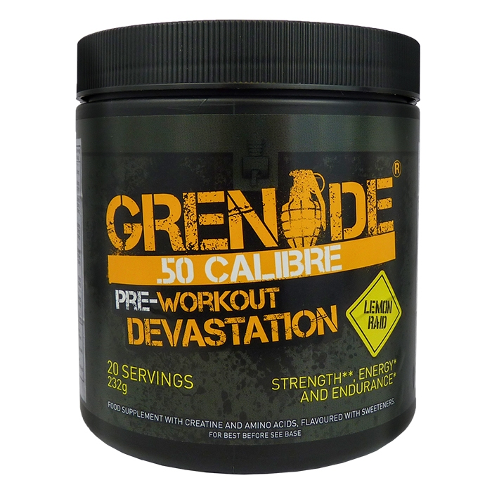 Grenade 50 Calibre - Pre Workout  232g