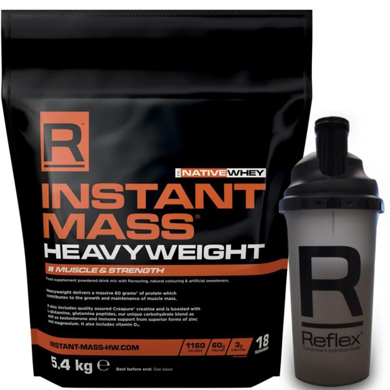 Reflex Nutrition Instant Mass Heavyweight Gainer 5.4KG