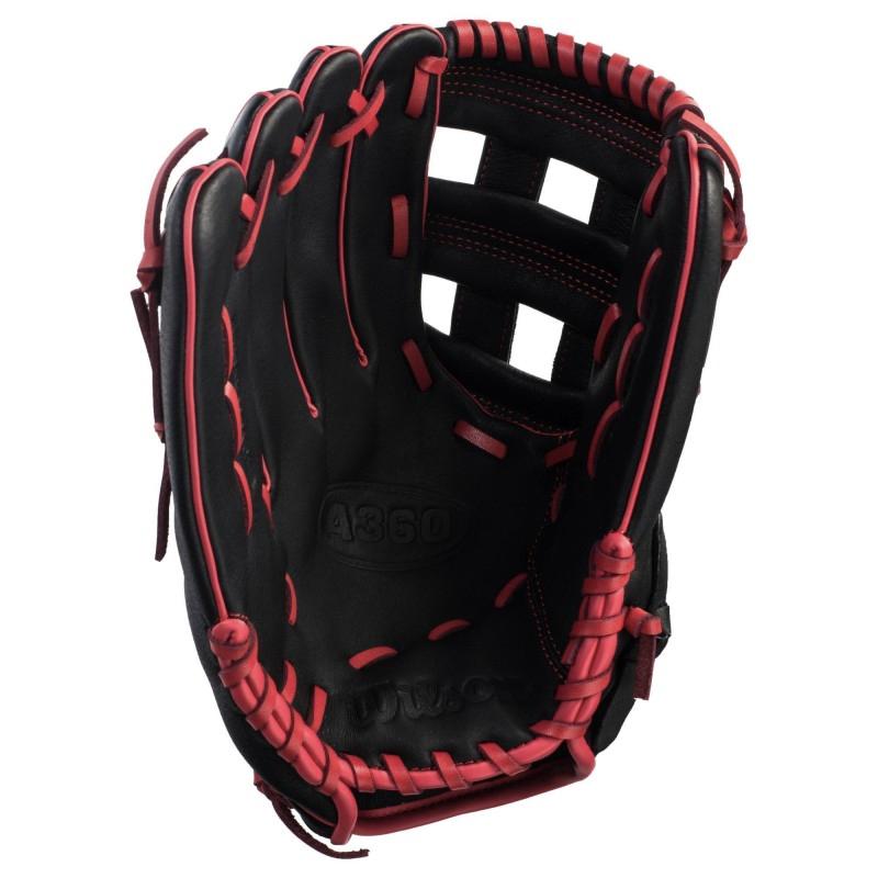 """Wilson A360 12"""" MLB Baseball Glove - Left Handed Thrower"""