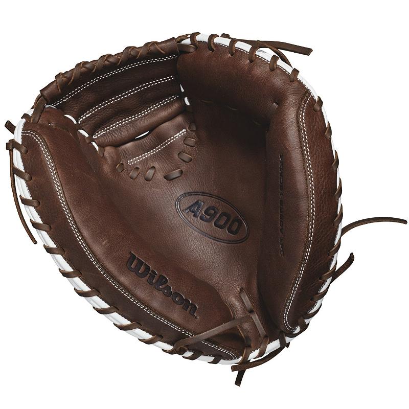 Wilson A900 34 Inch Catcher's Baseball Mitt - Right Hand throw