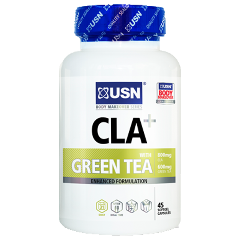 USN CLA + With Green Tea Weight Loss  90 Soft Gels
