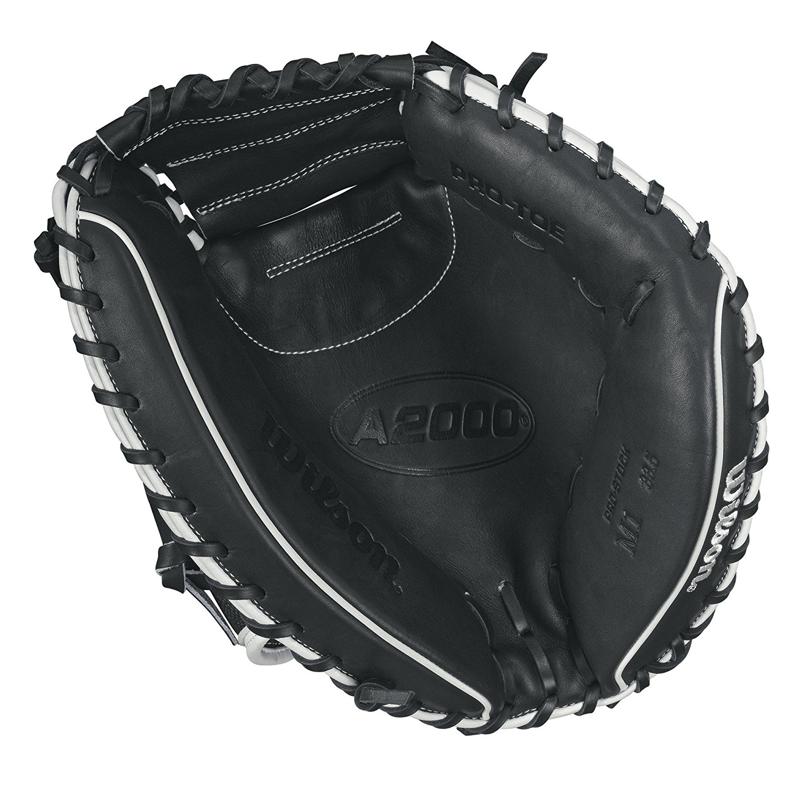 """Wilson A2000 SuperSkin M1SS 33.5"""" Baseball Catcher's Mitt"""